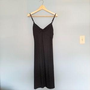Banana Republic NWT Long Black Strappy Dress Small
